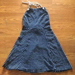 Nautical Halterneck Dress